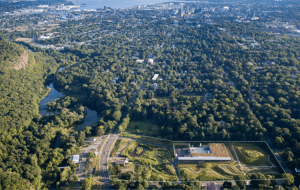 """""""Aerial view of New Haven"""""""